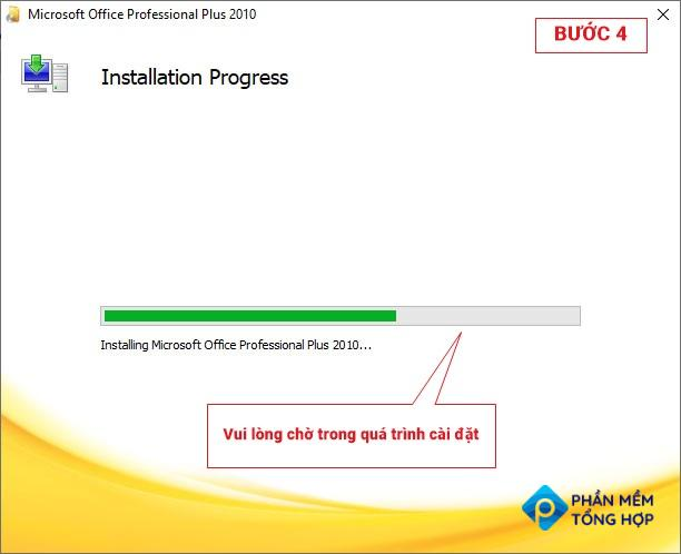 Office 2010 download step 4