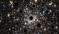 Astronomers Find Over 100 Closely Packed Black Holes Orbiting the Milky Way
