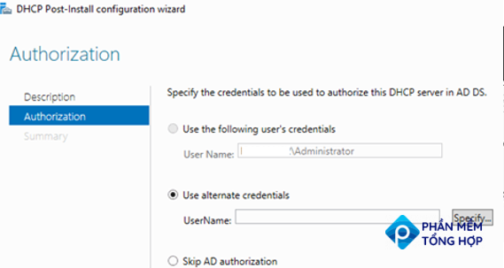 authorize this DHCP server in ADDS
