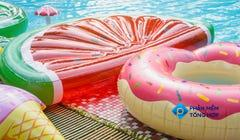How to Clean Pool Floats without Poking Holes