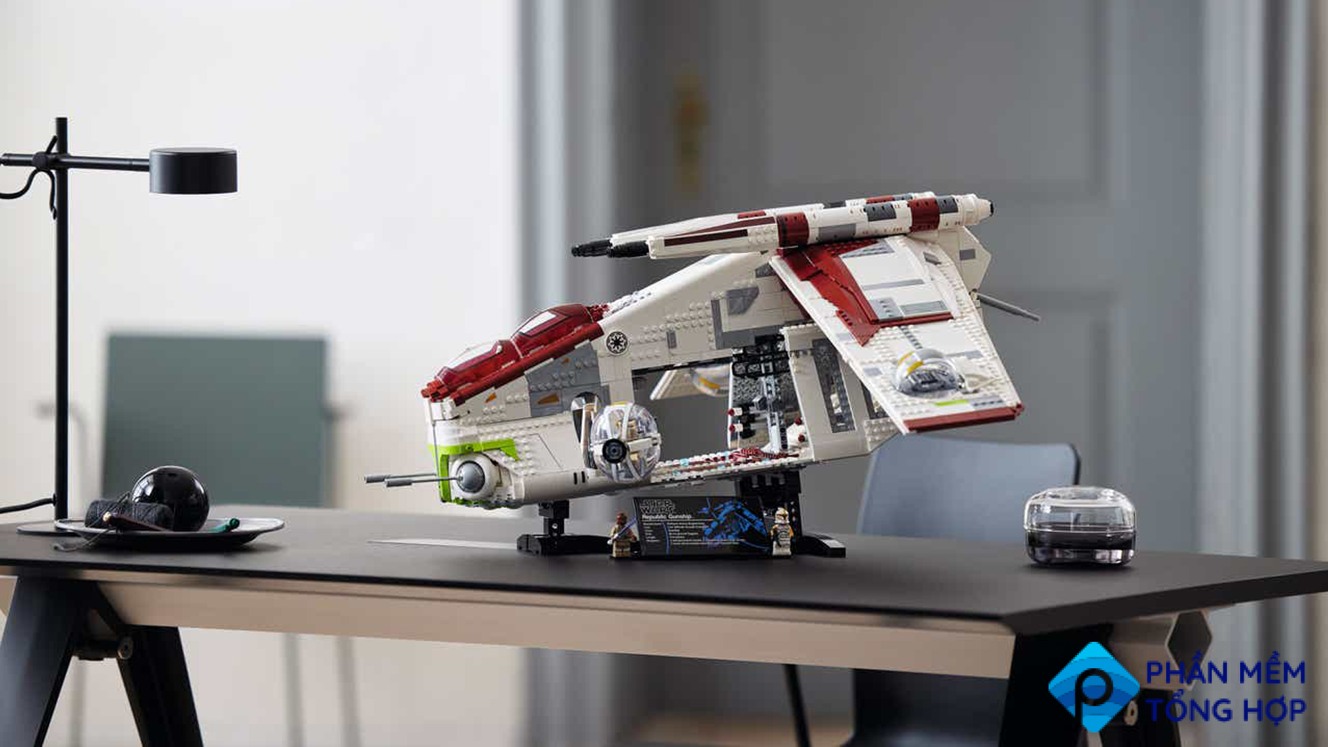 LEGO Reveals the 'Star Wars' Republic Gunship and Wow, It Looks Awesome