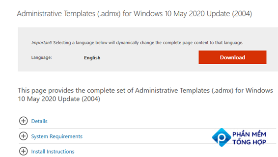 download administrative templates admx for windows 10
