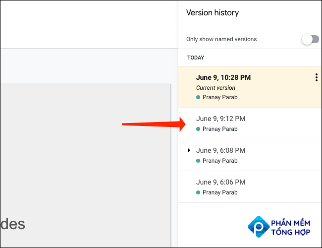 Click on any time stamp to check an older version of the presentation.