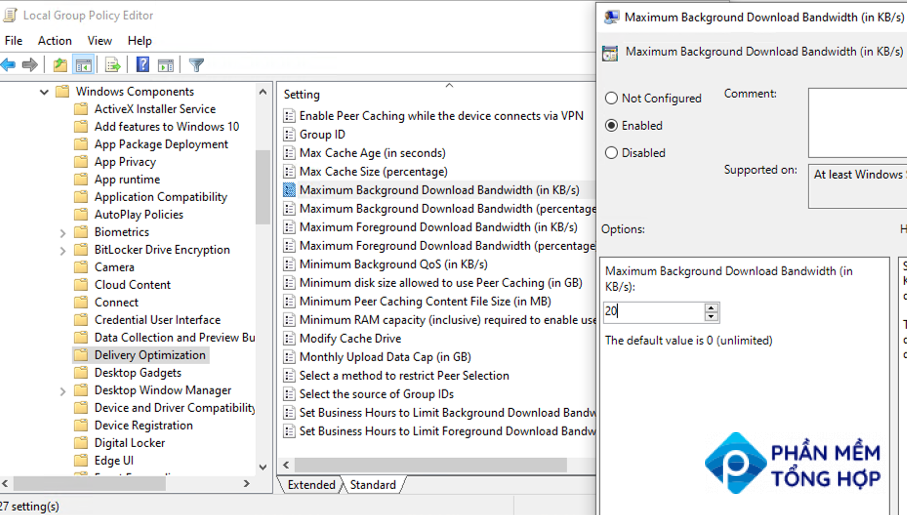 new gpo settings in new windows 10 builds