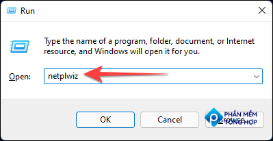"""Hit Windows+R to open the Run dialog box, type """"netplwiz,"""" and press Ctrl+Shift+Enter to launch it with administrative privileges."""
