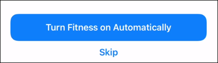 Choose automatic starting or skip it.