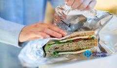 Why You Shouldn't Use Aluminum Foil to Store Food