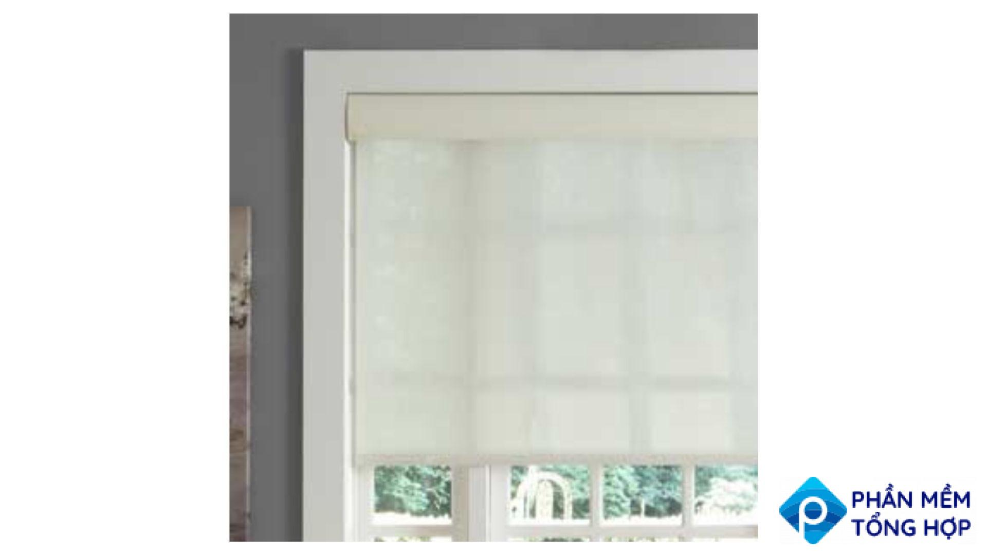 Smart Roller Shades by Serena by Lutron