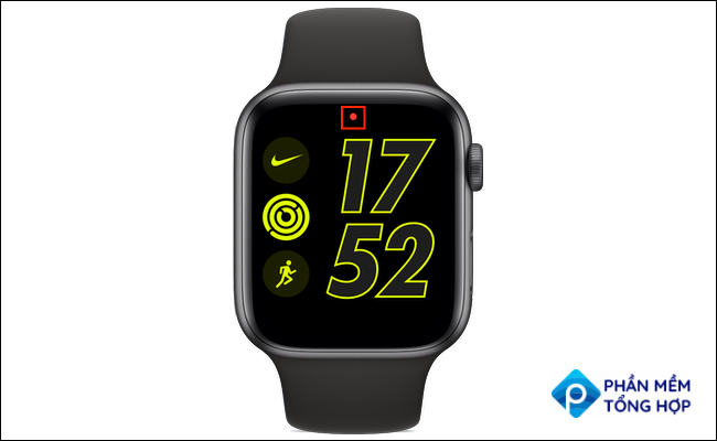 apple watch red dot icon