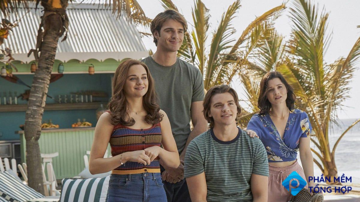 A scene from 'The Kissing Booth 3.'