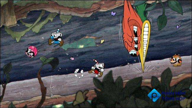 Cuphead can be played online through PlayStation's Share Play