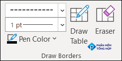 Use the Draw Borders section