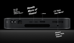 Apple Could Release a Mac Mini with More Ports