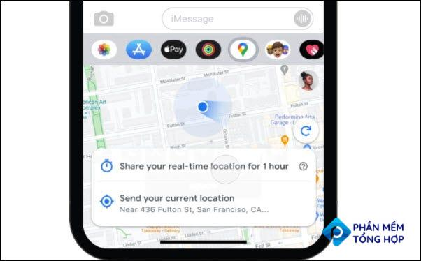Real Time location sharing Google Maps