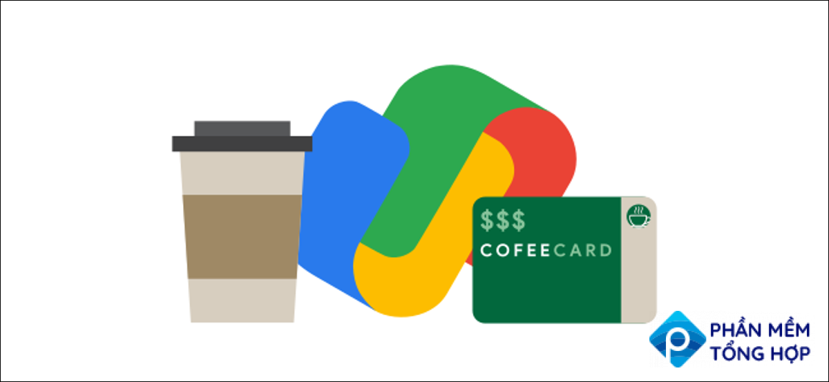 google pay logo with loyalty cards