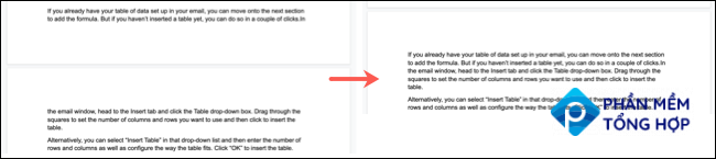 Keep Lines Together Before and After in Google Docs