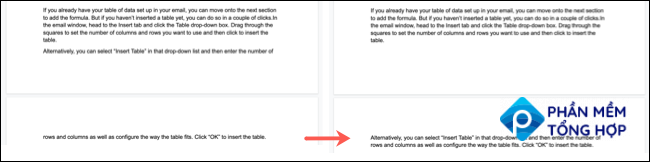 Prevent Single Lines Before and After in Google Docs