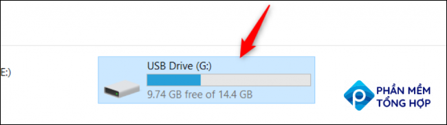 Using diskpart utility of Windows to unlock your storage device
