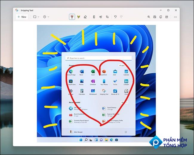 Windows 11 Snipping Tool