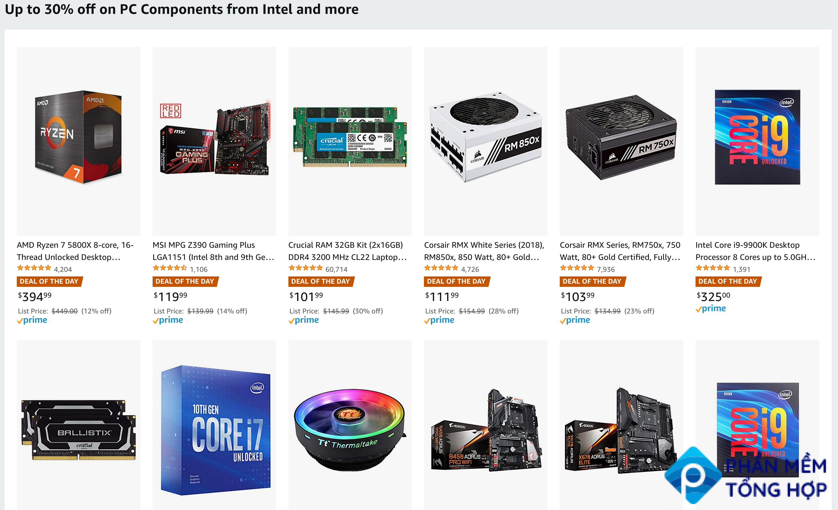 Save Up to 30% on PC Components
