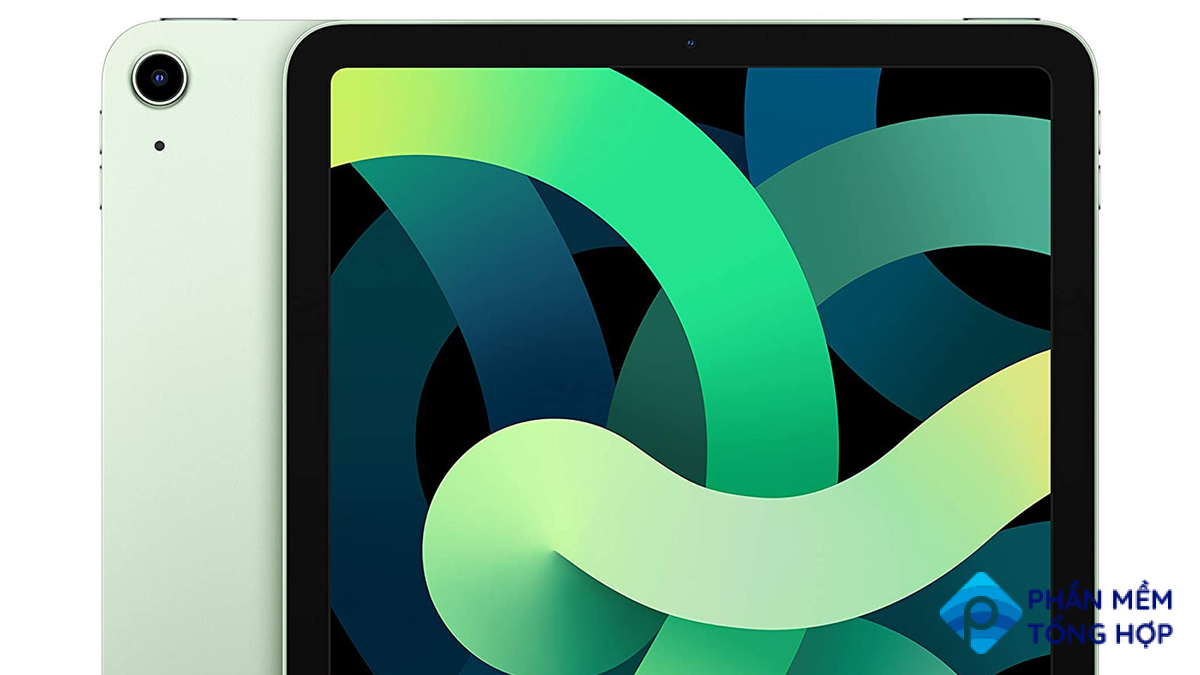 A photo of the green iPad Air (2020 Model)