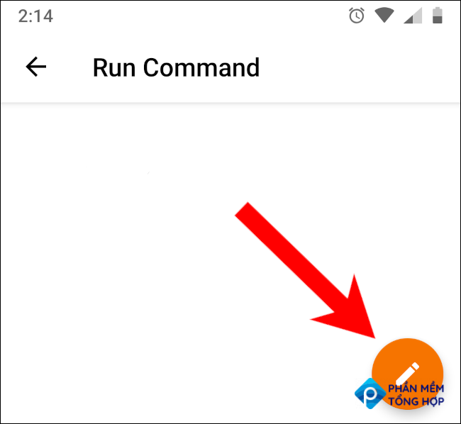 kde connect android create command